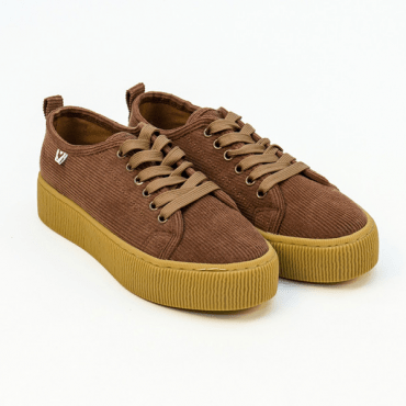 Pam ,Sneakers pana marrón.